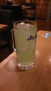 青リンゴサワー