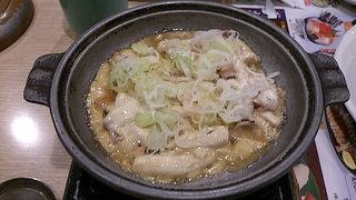 いかのわた味噌陶板焼