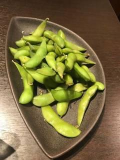 枝豆(お通し)