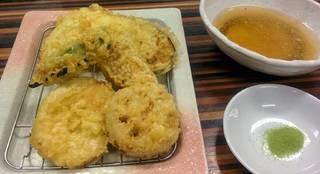 野菜天ぷら盛り合わせ(6種)