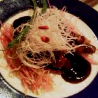 上海式黒豚酢豚