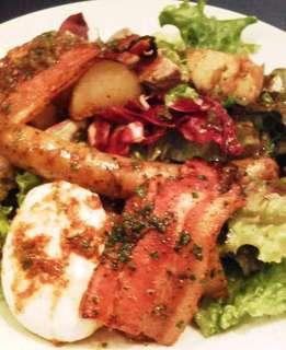 ボリューム満点 リヨン風サラダ