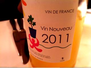 Vin Nouveau 2011