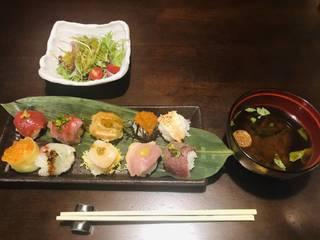 極上てまり寿司10貫