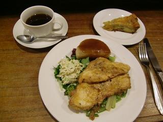 鶏胸肉のソテー黒酢風味