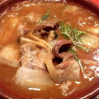 丹波篠山産ぼたん鍋
