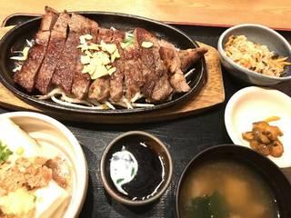 牛の肩ロース和風ステーキ定食