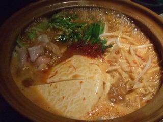 純豆腐豚骨キムチチゲ