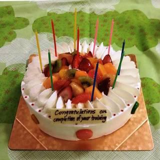 7号デコレーションケーキ
