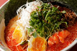 金の胡麻担々麺