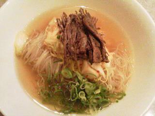 牛肉しぐれ冷麺