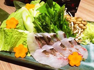 桜鯛のしゃぶしゃぶ鍋