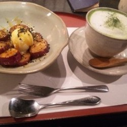Green‐tea sweets & Cafe あべまき茶屋