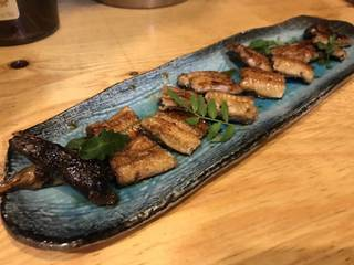 岡山県の天然青鰻の蒲焼き