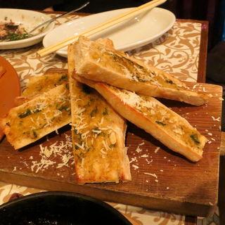 カニ味噌のトースト