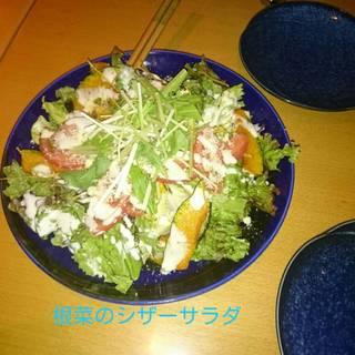 根菜のシーザーサラダ