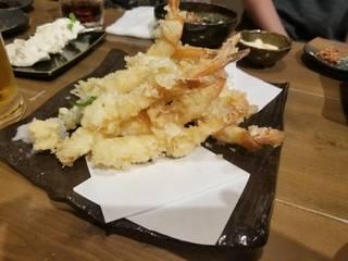 えび天ぷら盛り