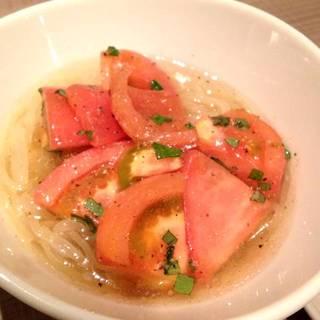 バンビーナトマト冷麺