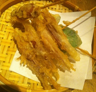 野菜の天ぷら みょうが