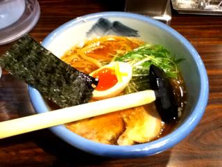 ゆず醤油麺