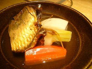 京野菜とニシンの炊き合わせ