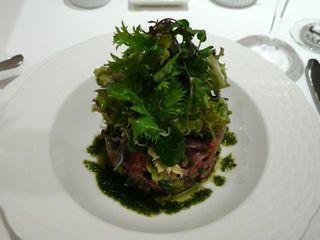 海の幸のタルタルサラダ アンチョビ風味