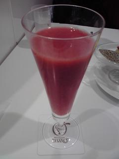 あまおう苺のジュース