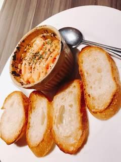 カマンベールチーズの明太子マヨ焼き
