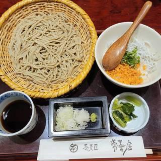 日替わりまかない丼と江戸そばセット