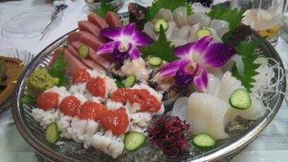 鮮魚お造り盛り合わせ