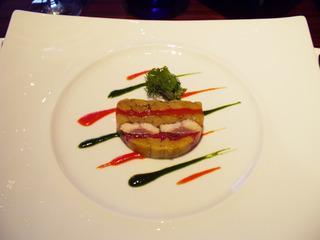 鴨肉とフォワグラのパテ