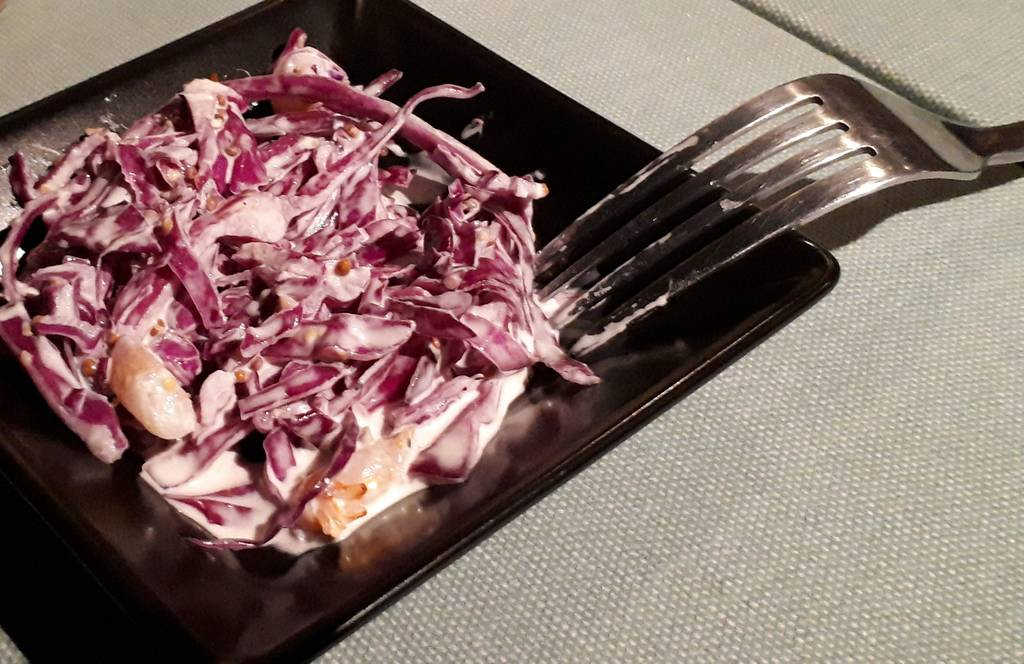 紫キャベツ(お通し)