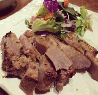 肉厚黒豚ステーキ