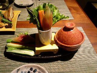 バーニャカウダ風野菜スティック