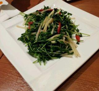 空心菜のニンニク炒め