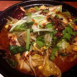土鍋マーラー麺