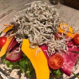 シラスのサラダ