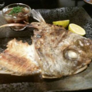 真鯛の塩焼