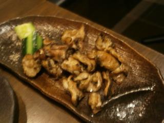 鶏ハラミ網焼き
