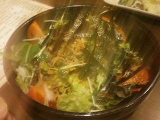 ジャコと大根のサラダ