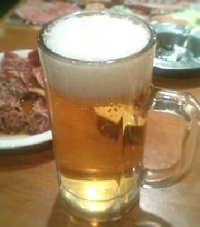 生ビール(中ジョッキ)