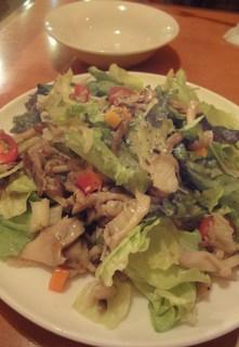 色々きのこのサラダ