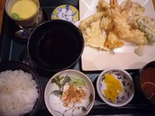 海鮮天ぷら定食