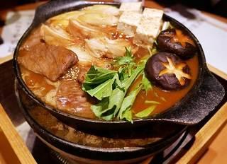 豊後牛の肉鍋