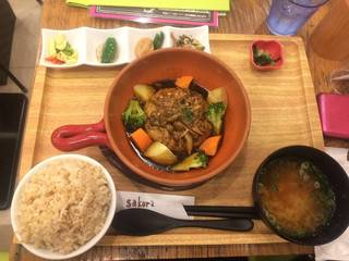 豆腐ハンバーグ ~たっぷりきのこのデミ味噌ソース~ お惣菜セット