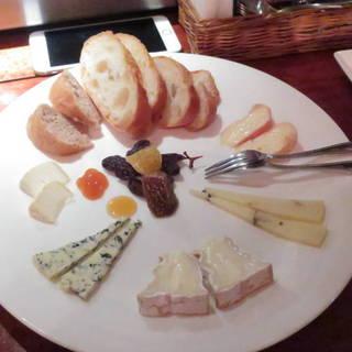 チーズ5種盛