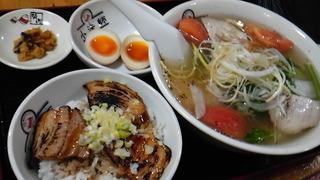 青唐うま塩ラーメン・夏 ミニ焼豚丼セット