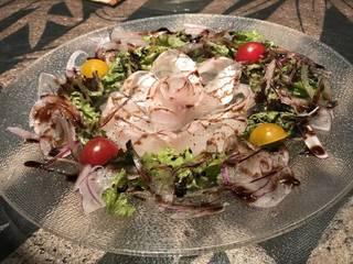 鮮魚のカルパッチョ