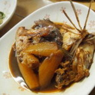 タイと大根の煮物