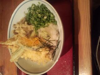 天ぷらおろしそば